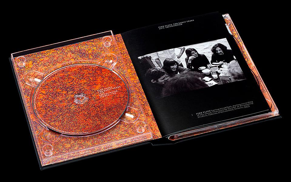tipografía de Pink Floyd