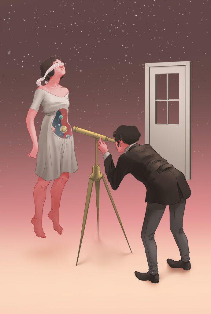 Ilustración de Laura Wächter para Nunca más