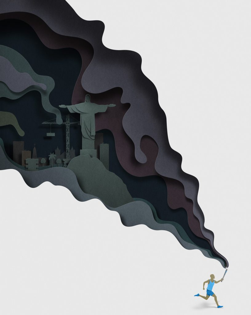 Ilustracion de Eiko Ojala para The New York Times 2