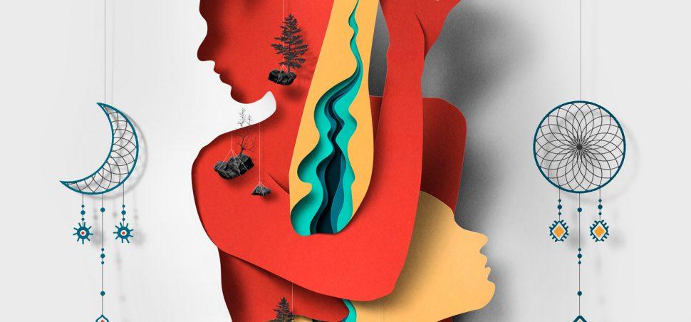 Ilustracion de la serie Myths de Eiko Ojala 2