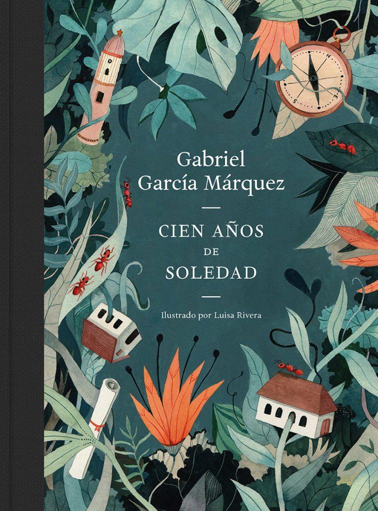 Ilustracion de Luisa Rivera para la novela de Gabriel Garcia Marquez