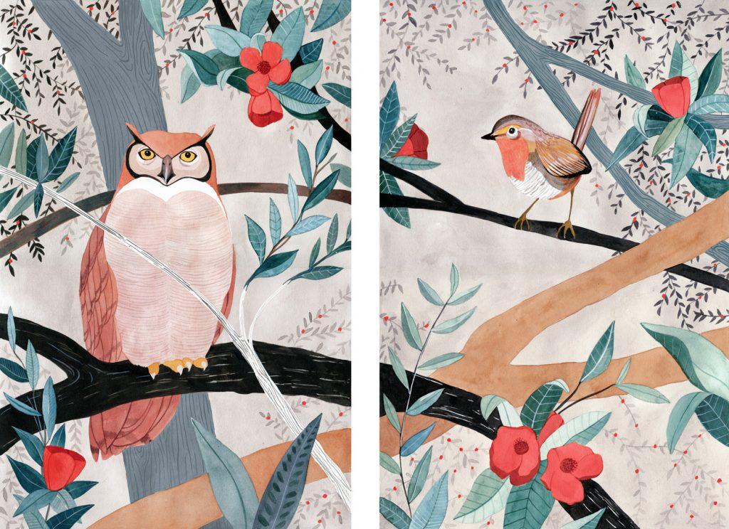 Ilustracion de Luisa Rivera