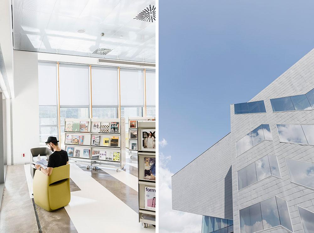 espacios creativos Barcelona museu del disseny eficicio