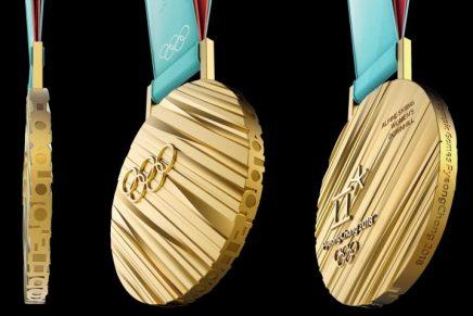 Sukwoo Lee diseña las medallas de las Olimpiadas de Invierno 2018