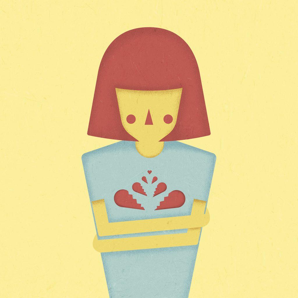 Pieces, una ilustracion de Natalia de Frutos