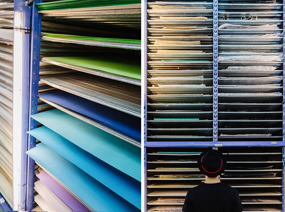 espacios creativos Barcelona Raima papeleria