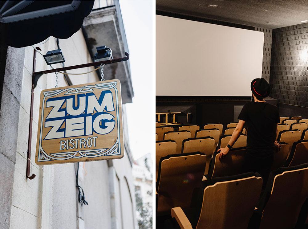 espacio creativo Barcelona Zumzeig Cine salas