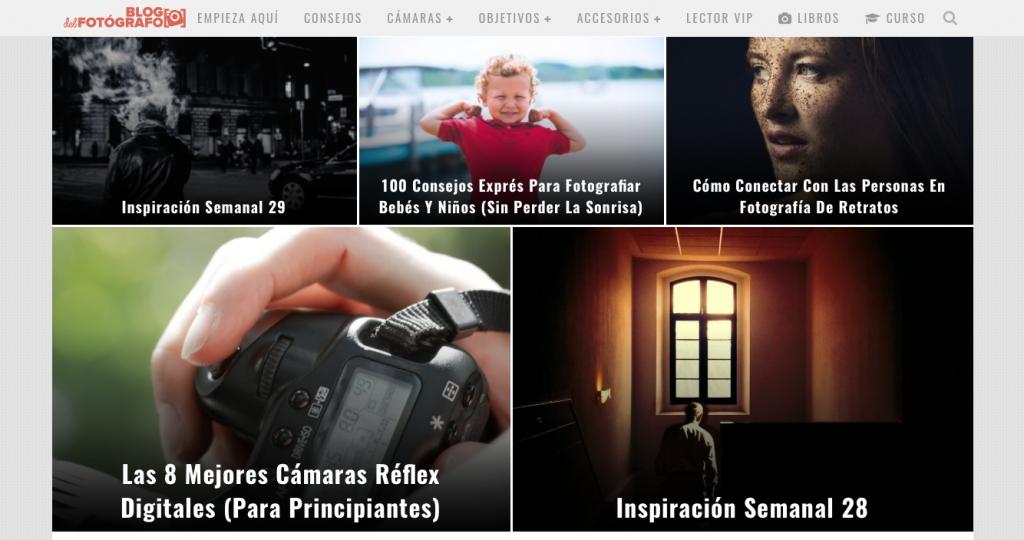 webs sobre fotografía: blogdelfotografo.com