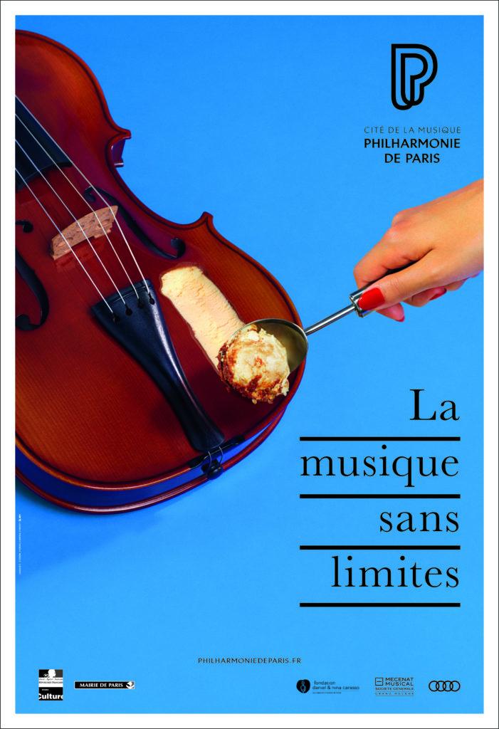 La agencia Betc diseña los carteles de la Filarmónica de París - 2
