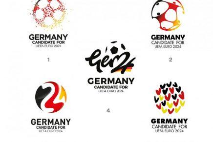 Alemania ya tiene logo oficial para la Eurocopa de 2024