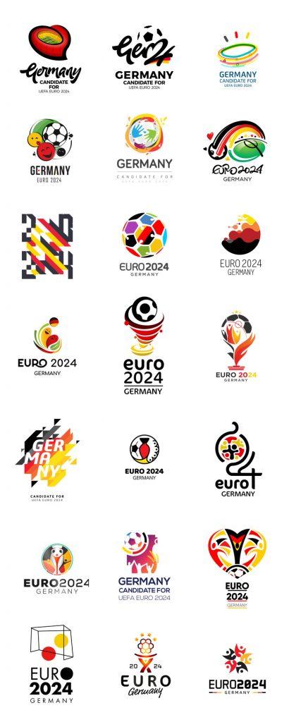 Logotipos para la Eurocopa 2024