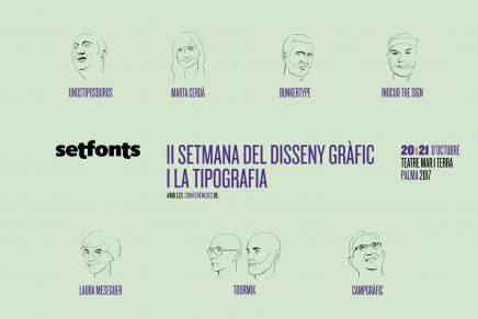 Setfonts regresa para llenar de tipografía y diseño la ciudad de Palma