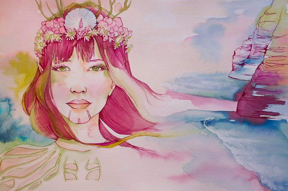Eyone, una de las ilustraciones de Araceli Garcia