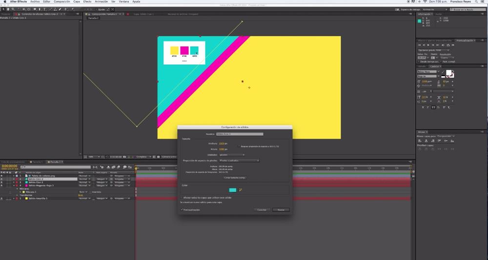 Cómo animar tus propias cortinillas con After Effects