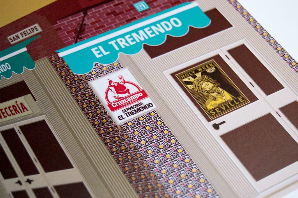 Uno de los bares tipicos de Sevilla para 'El Tabernario'
