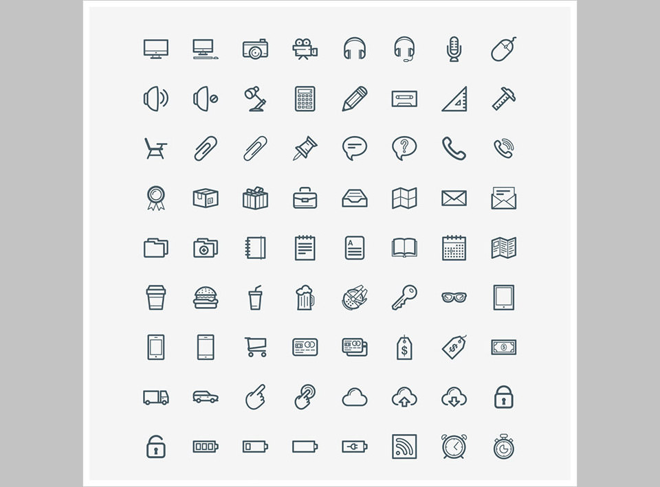 Los 100 Office Icons de Tyler Brooks