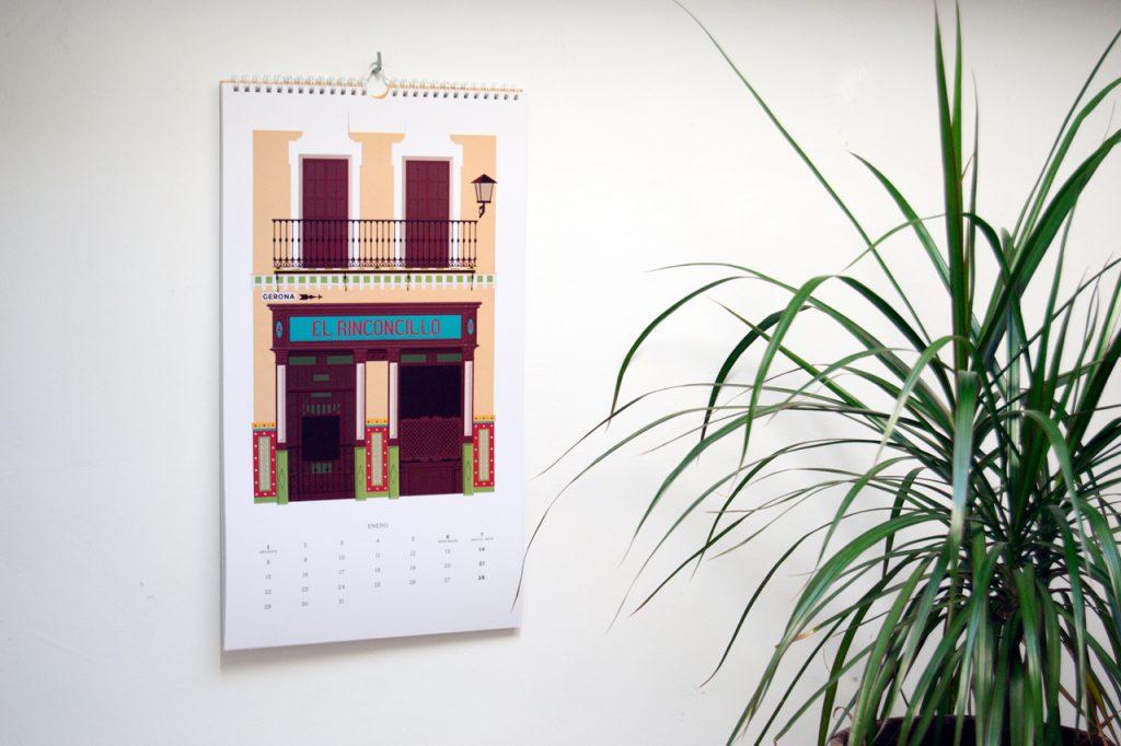 'El Tabernario', calendario ilustrado de Miguel Ferrera