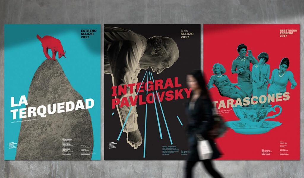 El Cervantes, en su justa expresión visual - carteles Martín Gorricho
