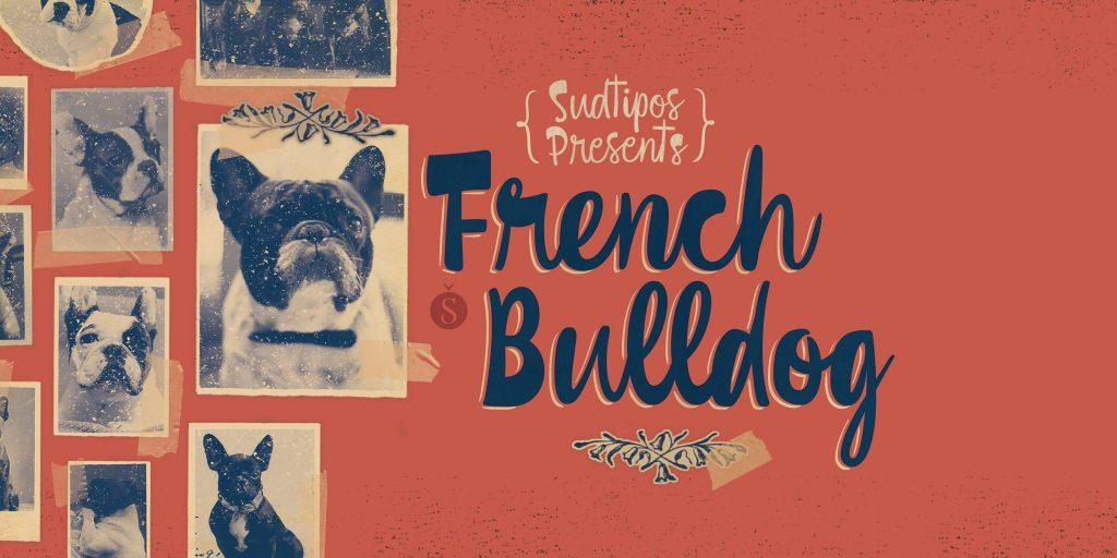 Presentamos French Bulldog, la nueva script de Sudtipos