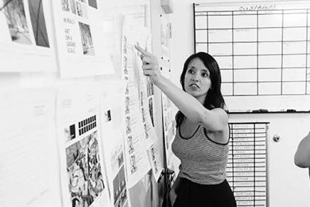 «Con el lettering soluciono los problemas gráficos y algunos regalos de boda», Ana Gómez Bernaus