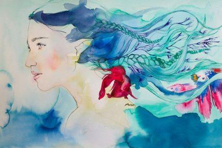 'Posidonia y el mar', un proyecto de micromecenazgo con ilustraciones que lucha por salvar el medio ambiente