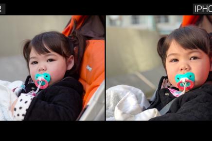 ¿Es mejor hacer fotos con iPhone X o con una cámara réflex?