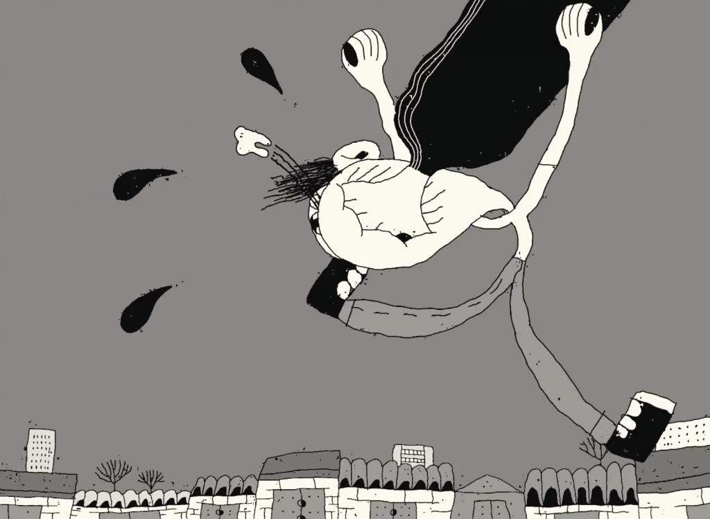 Escena de una de las animaciones de Max Litvinov