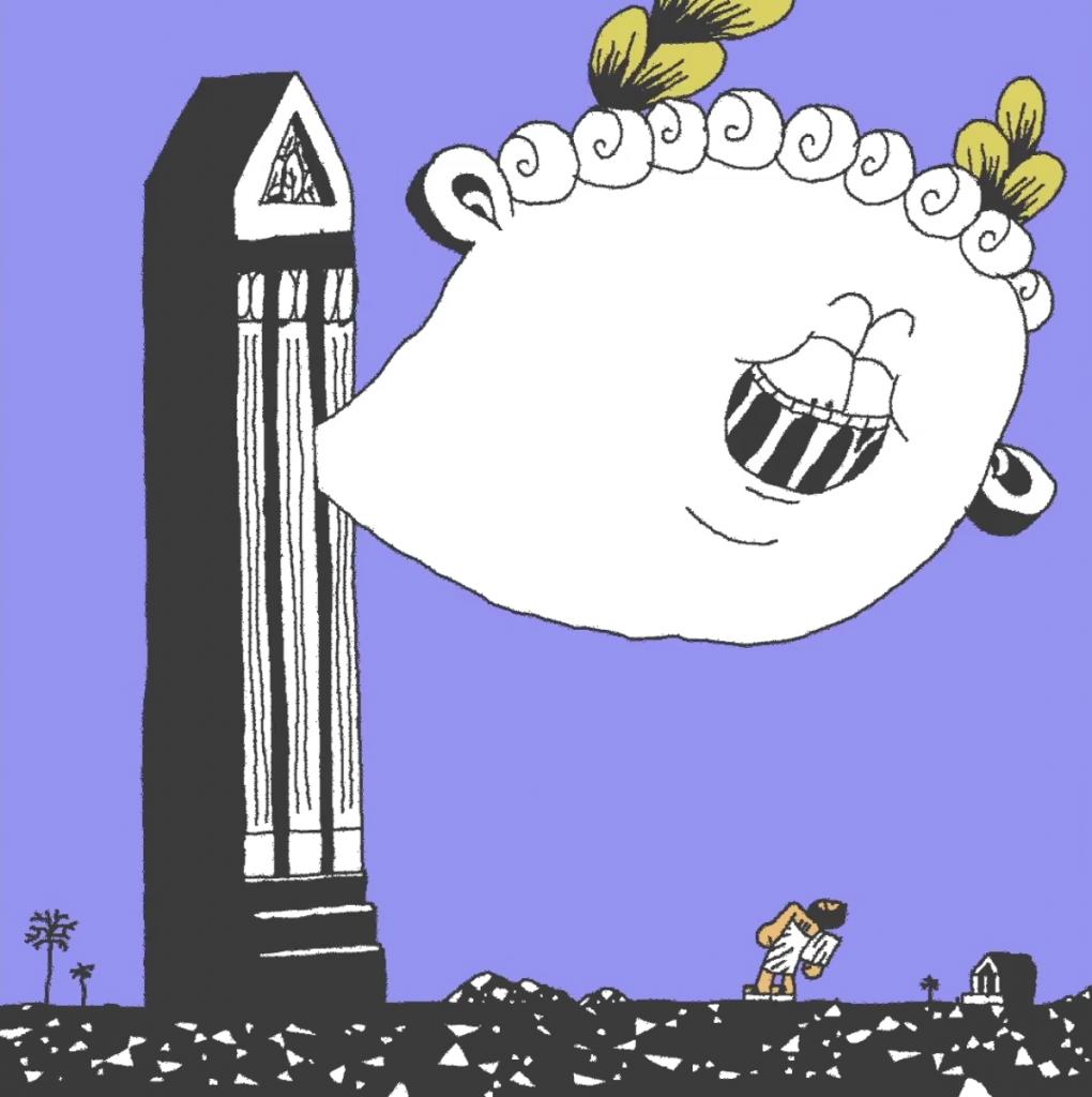 La comedia en una animacion de Max Litvinov