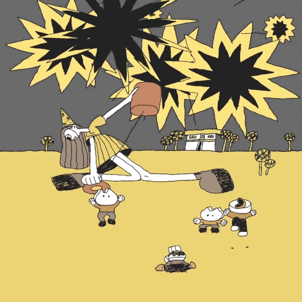 Imagen de una de las animaciones de Max Litvinov