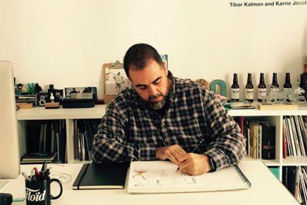 «Ahora soy el mejor diseñador de más de 90 kilos insultando a Illustrator», Modesto Granados