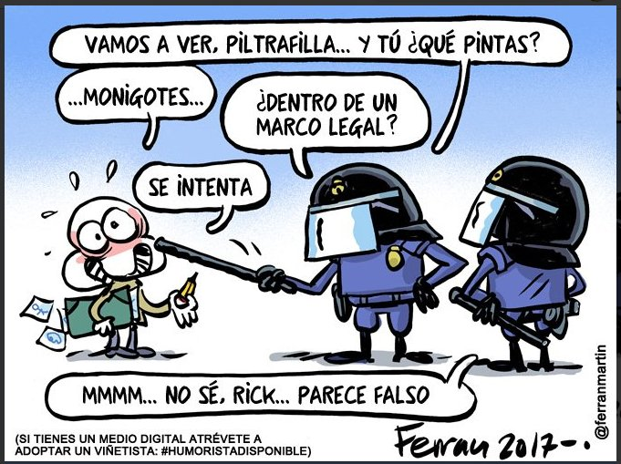 Ferran Martin - Humor Amenazado
