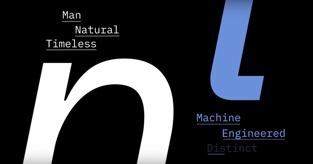nueva tipografía de IBM