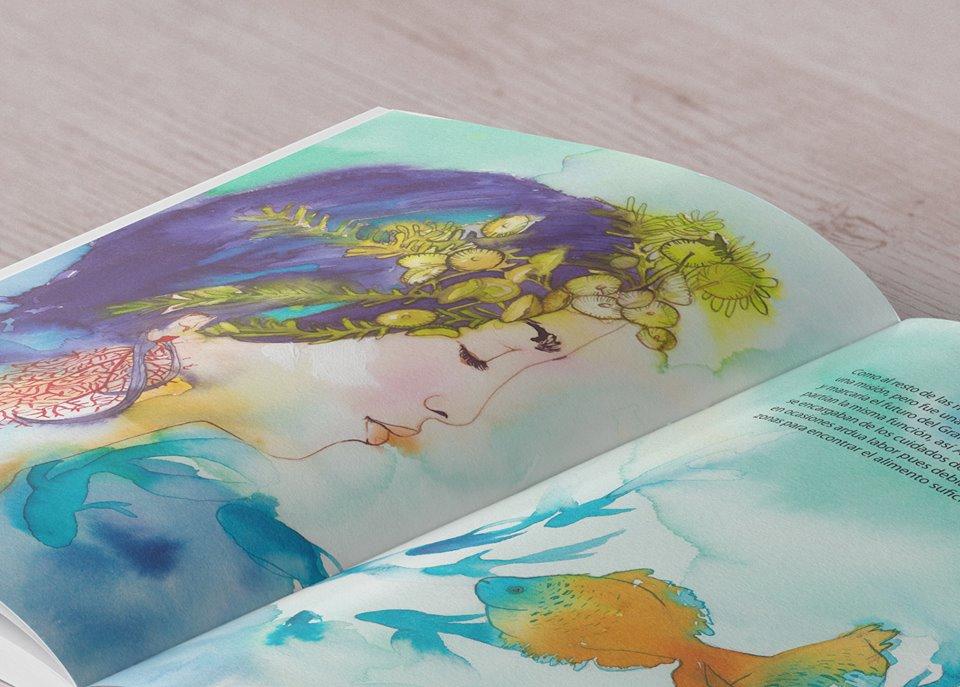 Fotografia del libro 'Posidonia y el Mar'