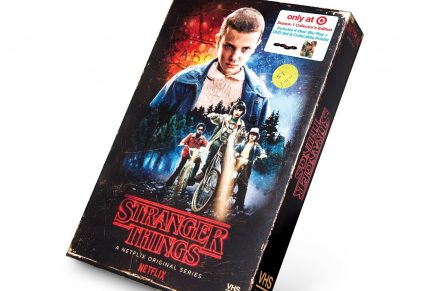 El packaging en formato VHS de Stranger Things al que no le faltan detalles ochenteros