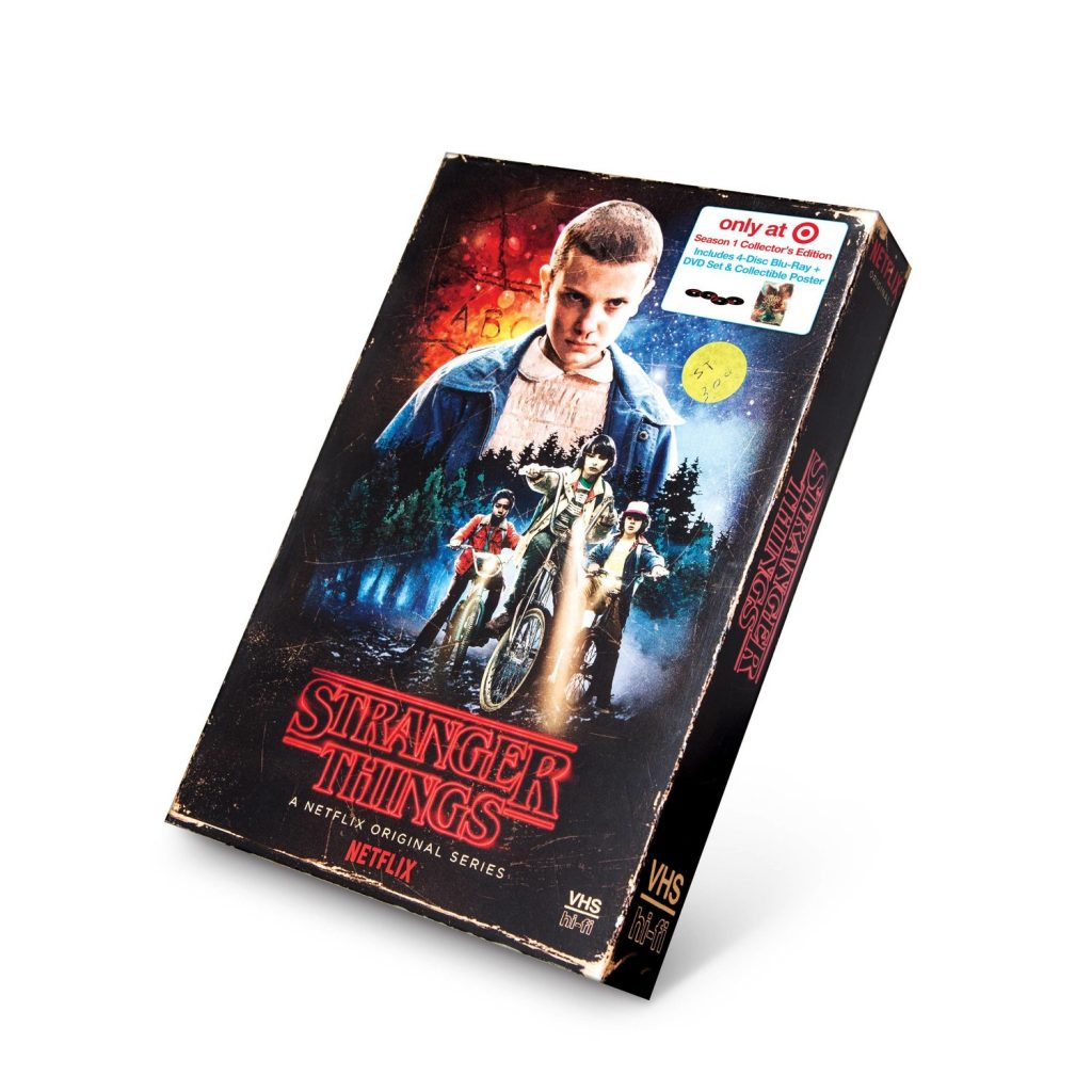 VHS de Stranger Things