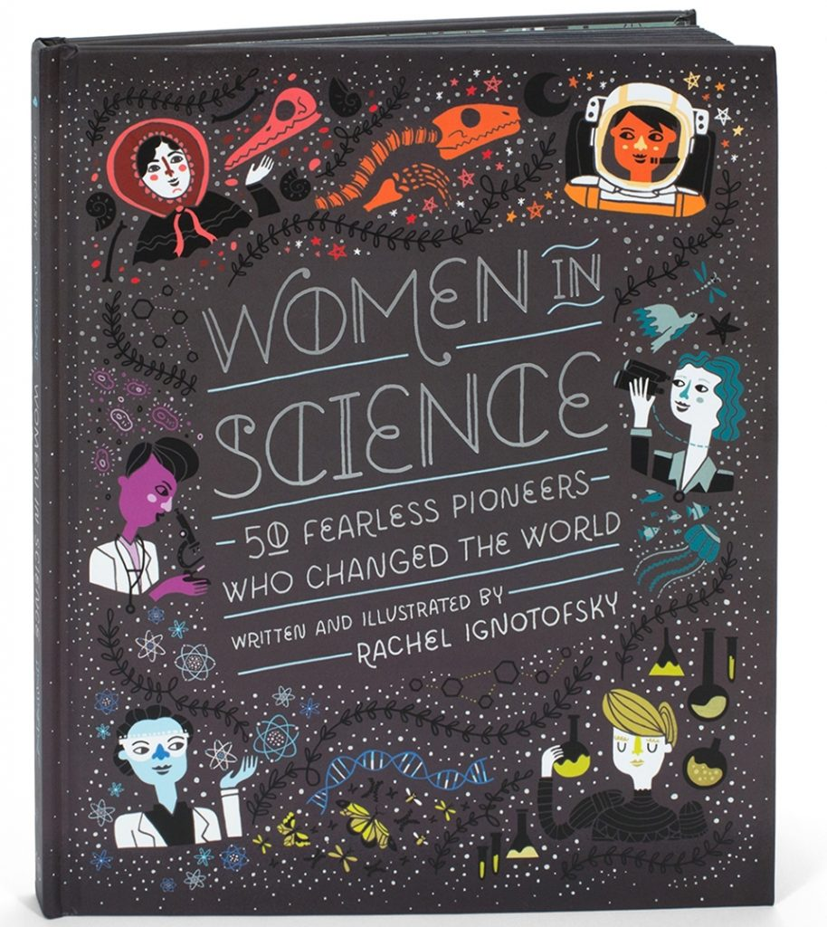 Women in Science, el album ilustrado de Rachel Ignotofsky