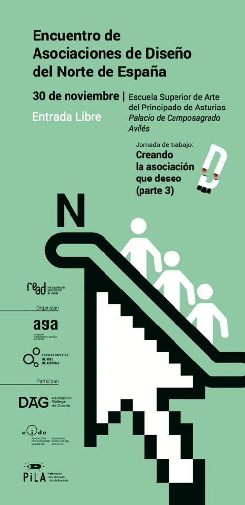 Portada del Encuentro de Asociaciones de Diseño del Norte de España
