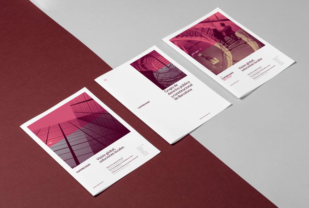 Tipografía Cuatrecasas - folletos