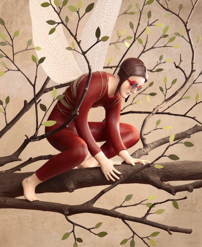 Una de las ilustraciones de Irma Gruenholz