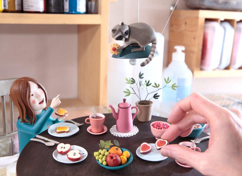 La ilustracion de un desayuno de Irma Gruenholz
