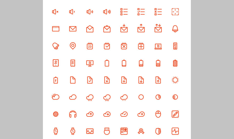 Los 150 Simple Line Icons de Juan Luis Valle