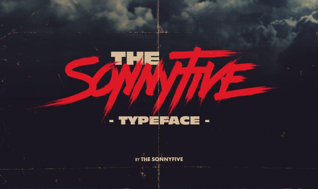 Sonnyfive es la nueva tipografia