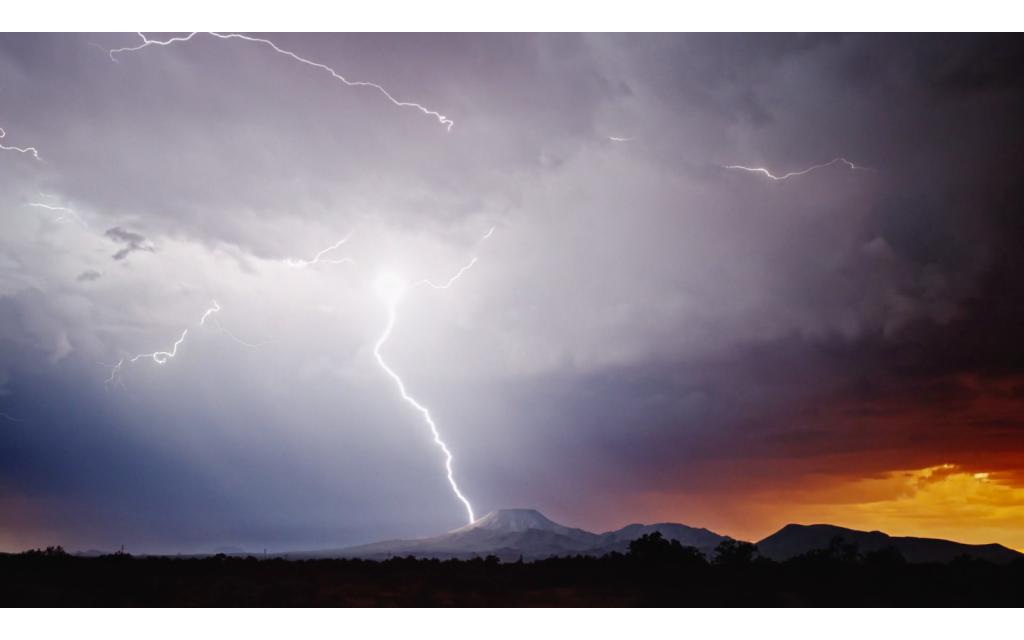 vídeo de tormentas eléctricas