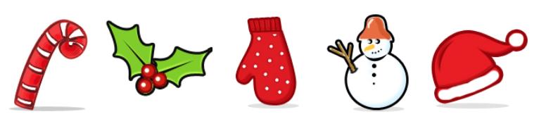 iconos gratuitos navideños