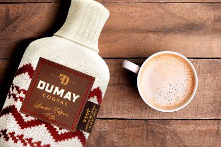 DUMAY Cognac lanza un original packaging para los meses de frío