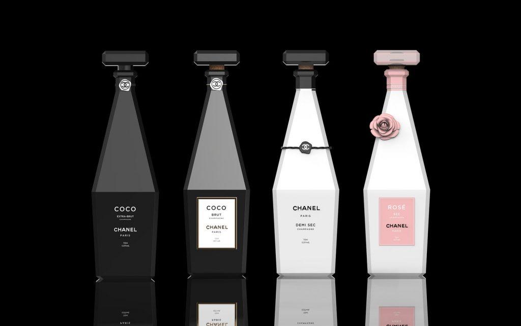 Chanel convertido en champán