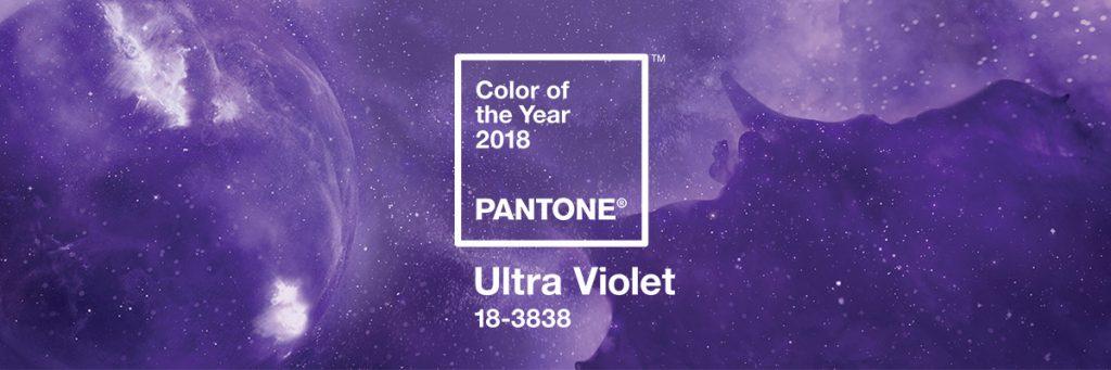 Pantone revela el Color del Año 2018: PANTONE 18-3838 Ultra Violet