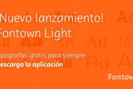 Fontown ya tiene disponible tipografías de uso gratuito e ilimitado