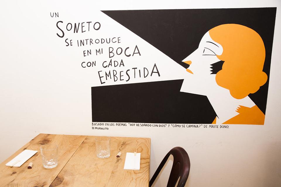 Mural Carla Berrocal