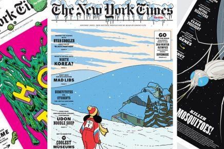 Nuevo diseño editorial para la versión de niños del New York Times
